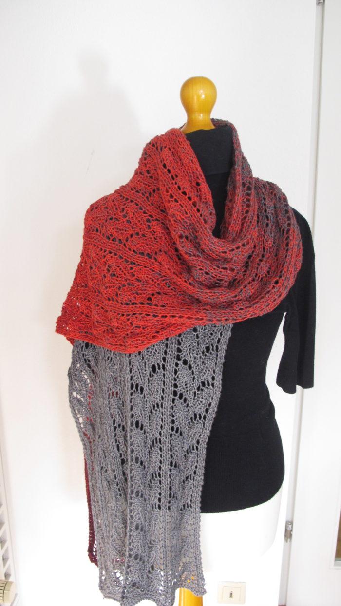 Schal aus Woolly Hugs Bobbel